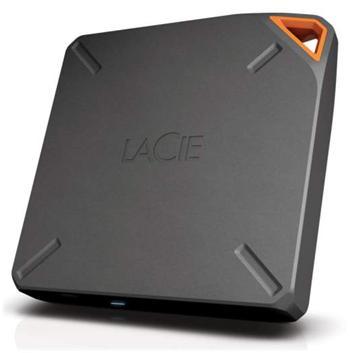 2TB Lacie FUEL přenosný bezdrátový HDD pro iPad / iPhone / Mac / Android - 9000464EK