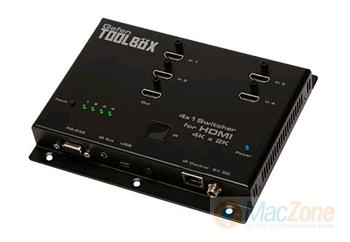 GefenToolBox UltraHD 4:1 switcher HDMI přepínač GTB-HD4K2K-441-BLK