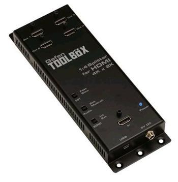 GefenToolBox UltraHD 1:4 splitter HDMI rozbočovač GTB-HD4K2K-144-BLK