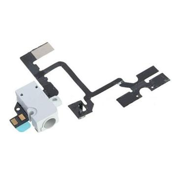 Apple iPhone 4G Headphone jack a hold switch - sluchátkový obvod bílý 821-1033-A