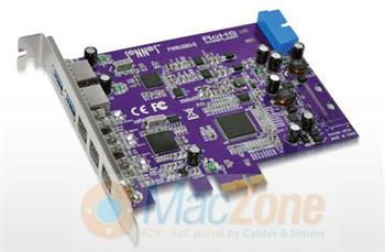 Sonnet Tango řadič USB 3.0 + FireWire 800 PCIe pro Mac FW8USB3A-E