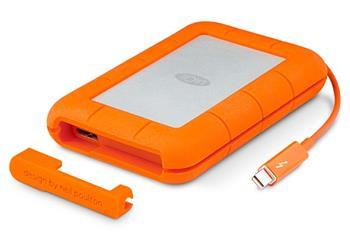 500GB Lacie Rugged SSD v2 Thunderbolt USB 3 přenosný mobilní odolný disk 9000491