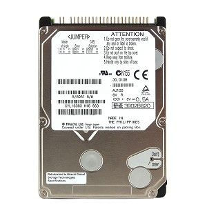 "40GB HDD PATA 2,5"" 5400rpm , refurbrished pro Apple PowerBook G4 / iBook G4/ MacMini G4"
