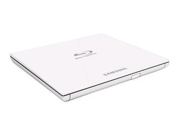 Samsung SE-506CW slim externí DVD+ BluRay mechanika USB 2.0/3.0 bílá