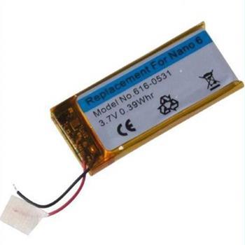 Apple baterie pro iPod Nano 6 .Generace 3.7 V 0.39 Whr 616-531