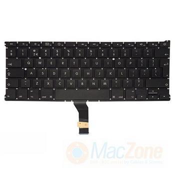 """Klávesnice pro Apple MacBook AIR 13"""" , UK rozložení kláves , zahnutý enter, použité, testované, bez podsvitu"""