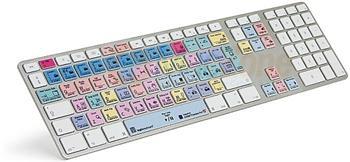 Logic Keyboard Advance USB ultratenká hliníková Apple klávesnice pro Adobe Premiere Pro CC