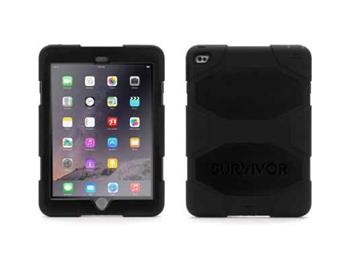 Griffin Technology Survivor iPad Air 2 extrémně odolný obal pro iPad Air 2 /iPad Pro 9,7 černý