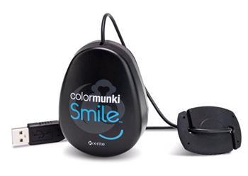 Pantone / XRite ColorMunki Smile - jednoduchá kalibrační sonda pro monitory