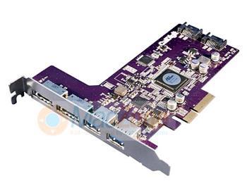 CalDigit řadič USB 3.0 a eSATA combo PCIe karta Mac / PC