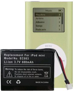 Newer Technology NuPower baterie pro iPod Mini 650 mAh BIPOD650MM EC003