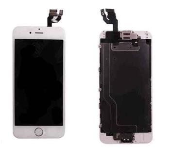 Apple iPhone 6 Retina LCD with Digitizer original - ORIGINÁLNÍ displej s digitizérem pro iPhone 6 bílý osazený