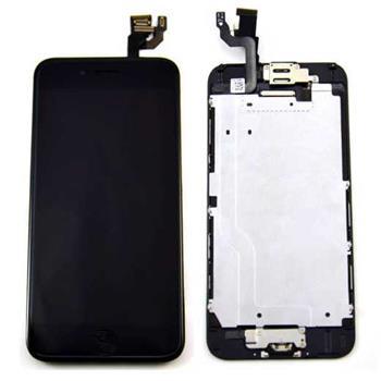 Apple iPhone 6 Retina LCD with Digitizer original - ORIGINÁLNÍ displej s digitizérem pro iPhone 6 černý osazený