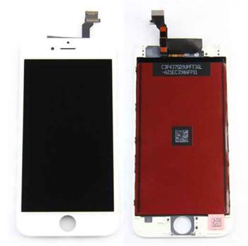 Apple iPhone 6 Retina LCD with Digitizer original - ORIGINÁLNÍ displej s digitizérem pro iPhone 6 bílý