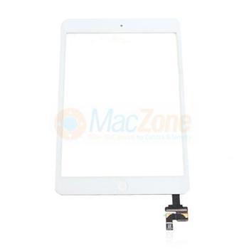 Apple iPad Mini 3 Touchscreen white dotyková vrstva a krycí sklo original osazený bílý