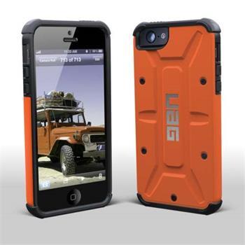 Urban Armor Gear UAG odolné pouzdro pro iPhone 5  5S  SE oranžové ... 6a852fc83dc