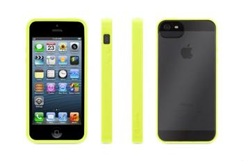 Griffin REVEAL obal typu bumper pro Apple iPhone 5 / 5S / SE Citron