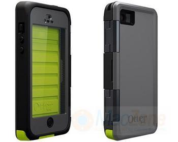 OtterBox Armor vodotěsné odolné pouzdro pro Apple iPhone 5  5S Neon zeleno  šedé 661d2b99654