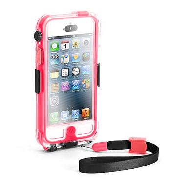 Griffin Survivor CATALYST vodotěsný obal pro Apple iPhone 5   5S růžovo  průhledný waterproof GB35562 f2829665597