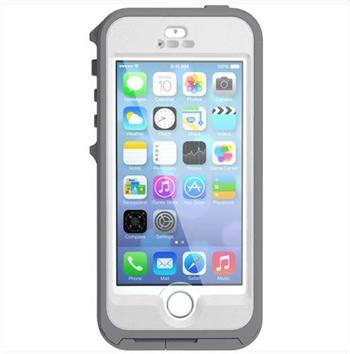 OtterBox Preserver voděodolné pouzdro pro Apple iPhone 5  5S šedivo-bílé (  touchID ready 69769e8bcd4